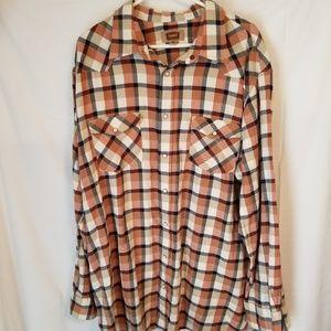 Foundry 2 xl lt flannel 100% cotton